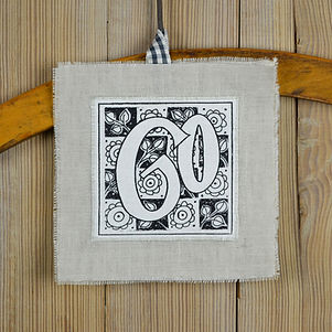 birthday linen keepsake