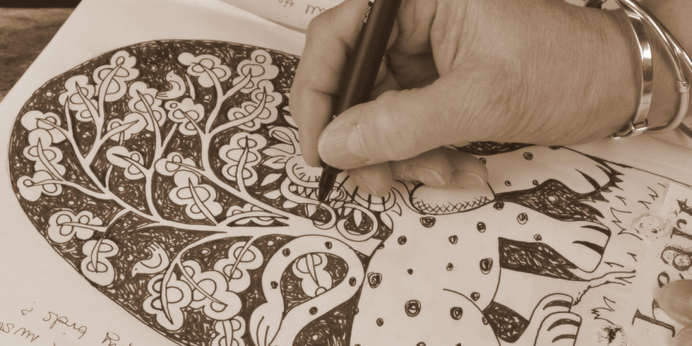 Jill Pargeter | printed textiles hand made in England
