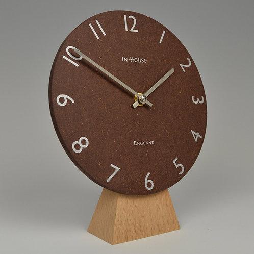 Inhouseclocks - modern Scandinavian style handmade beech wood clock