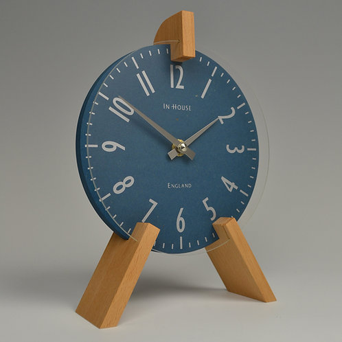 Inhouseclocks - modern handmade beech wood clock