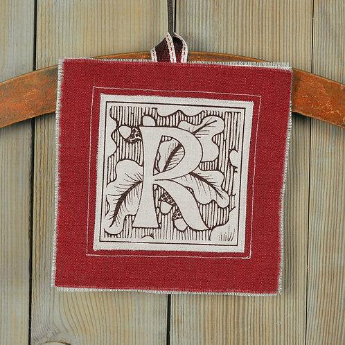 letter R - valentine keepsake gift