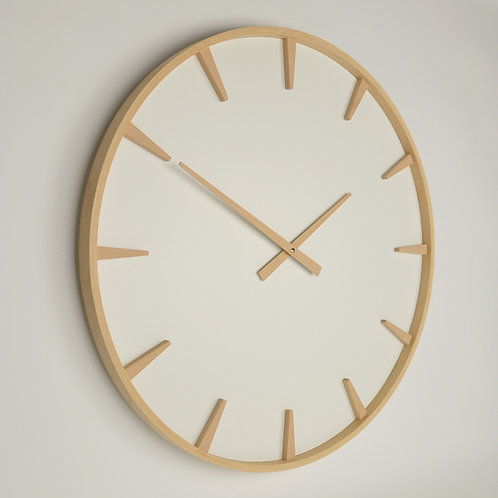 Inhouseclocks | British handmade beech wood wall clock
