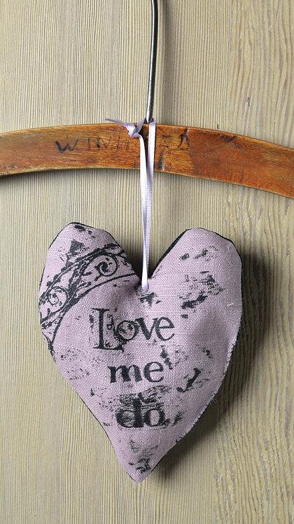lavender filled heart decoration - Jill Pargeter