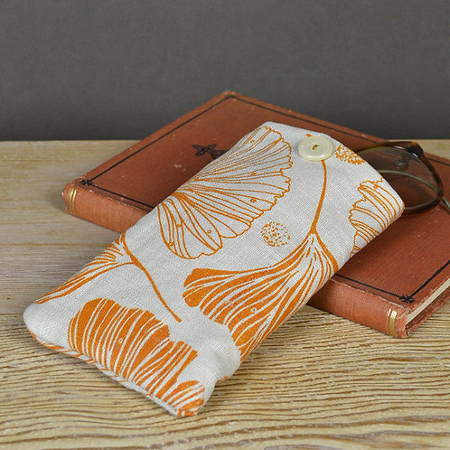 ginkgo glasses case