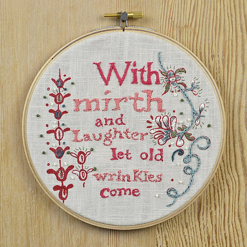 jill pargeter - embroidery kits