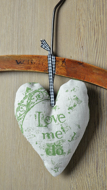 lavender filled linen heart - Jill Pargeter