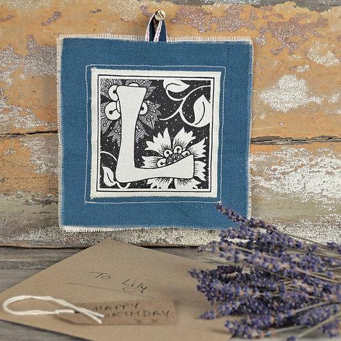 Lavender Keepsake - Letter 'A'