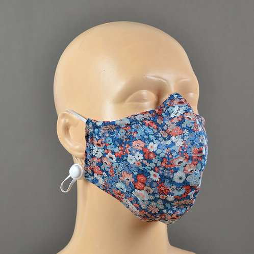 Fabric Face Mask - Liberty Blue Floral