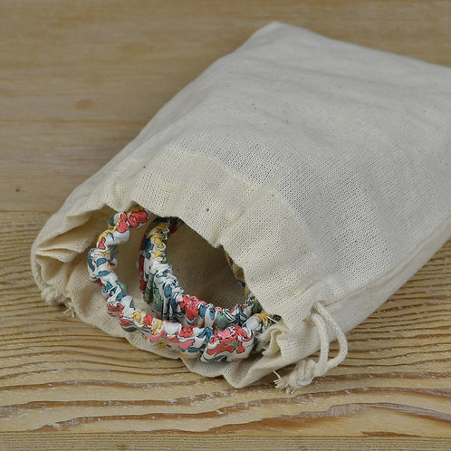 Basic Cotton Travel Pouch