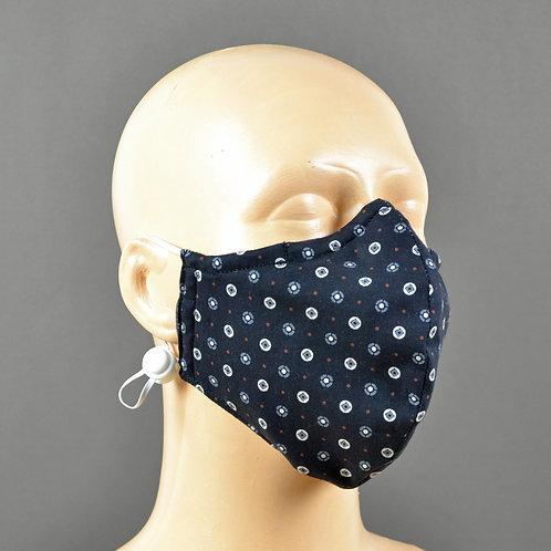 Fabric Face Mask - Liberty Black Spot