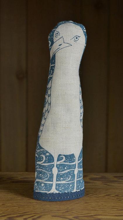 Jill Pargeter - seagull linen figure