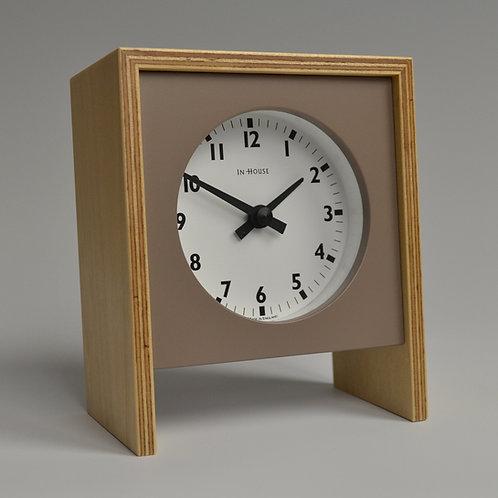 Inhouseclocks - contemporary plywood desk clock