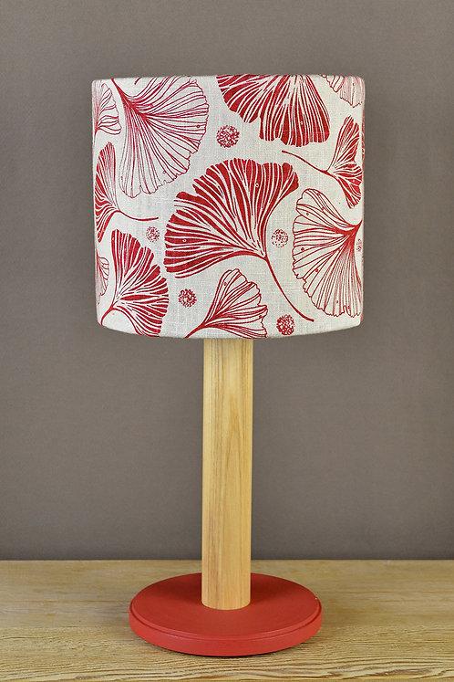 20cm linen lampshade handmade in England