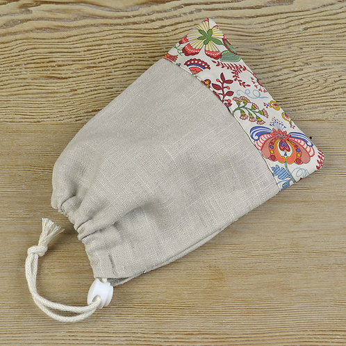 travel pouch for face mask
