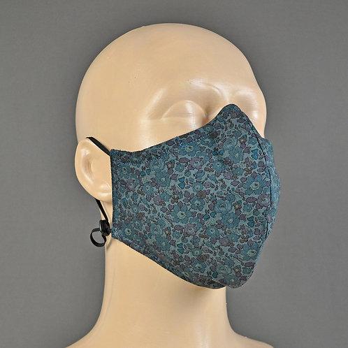 liberty fabric face masks handmade in U.K