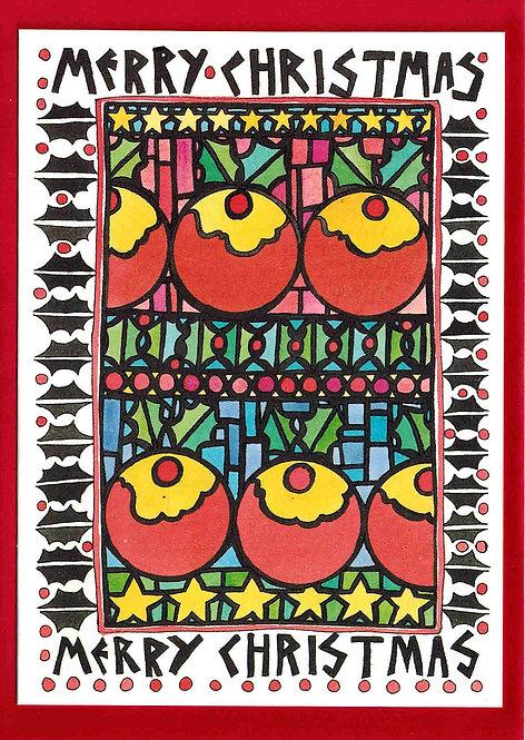 Christmas Card - Puddings