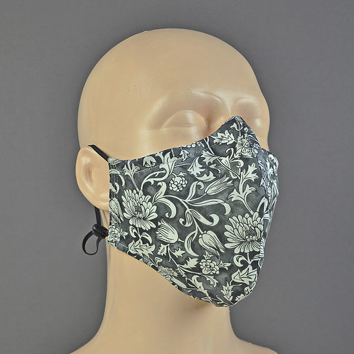 liberty fabric face mask handmade in England