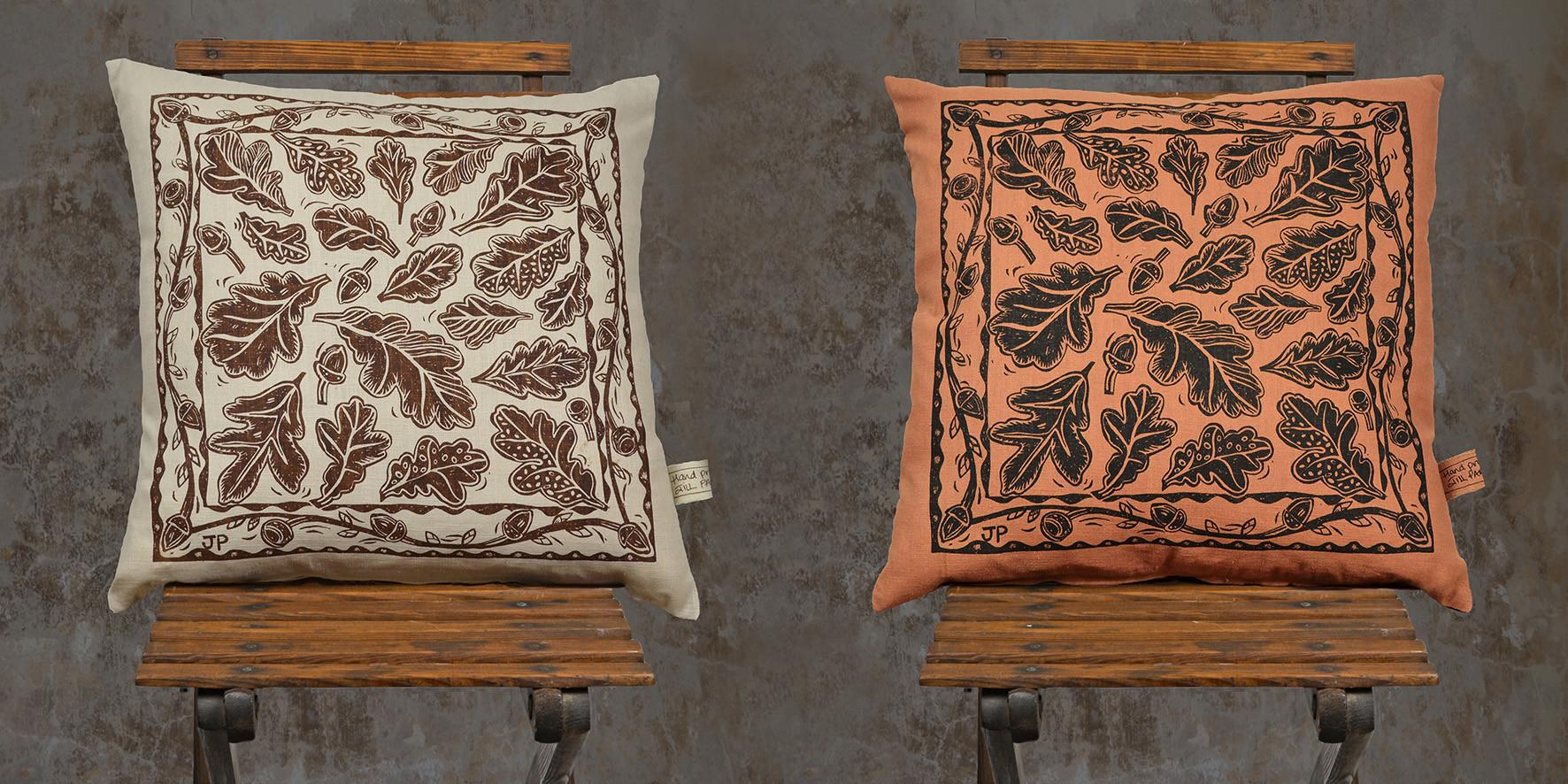 Jill Pargeter | printed textiles | cushions