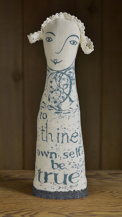 Jill Pargeter - Shakespeare inspired linen gifts