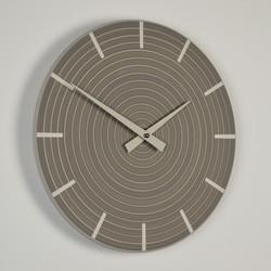 Inhouse Clocks | handmade in England | grey wall clock