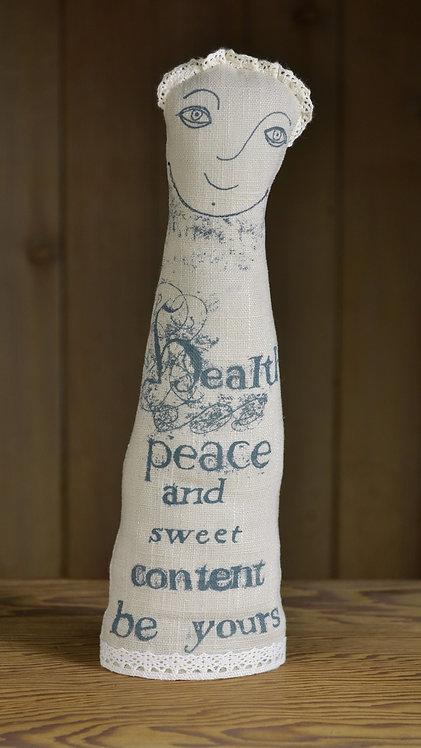 Jill Pargeter - Shakespeare quotation figure