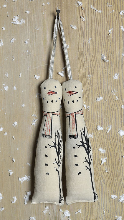 snowmen xmas decorations