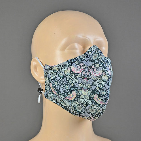 Fabric Face Mask - Liberty Strawberry Thief