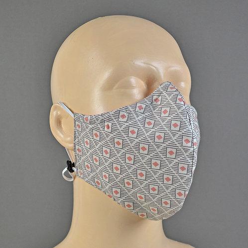 Jill Pargeter - handmade luxury fabric face masks