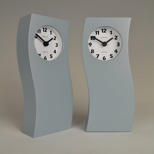 Inhouseclocks - modern wave mantel clock
