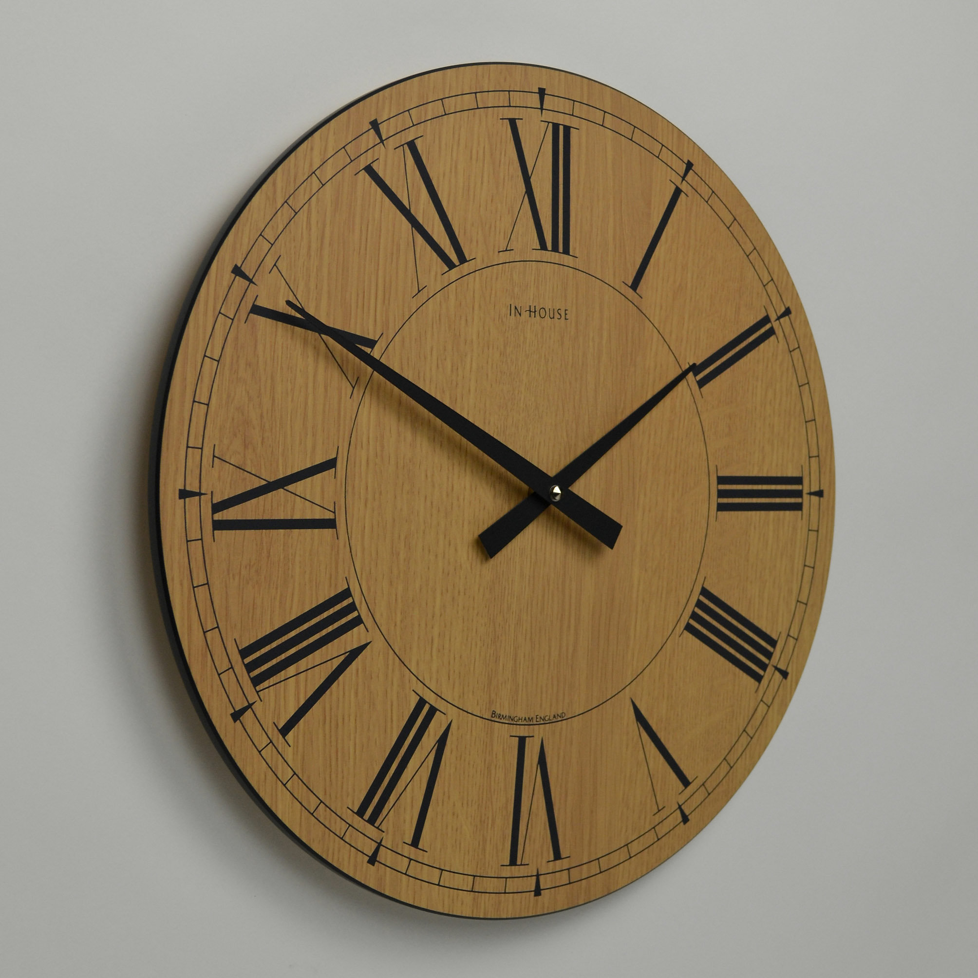Brown wall clocks contemporary images home wall decoration ideas contemporary clocks contemporary wall clocks online oversized contemporary clocks handmade in england uk inhouseclocks amipublicfo images amipublicfo Image collections