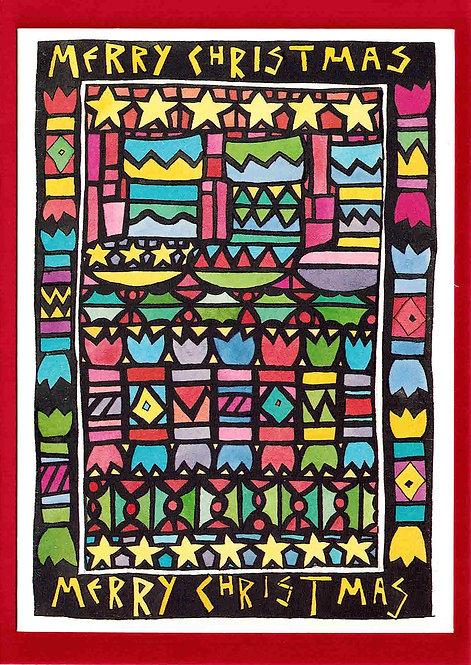 Christmas Card - Stockings
