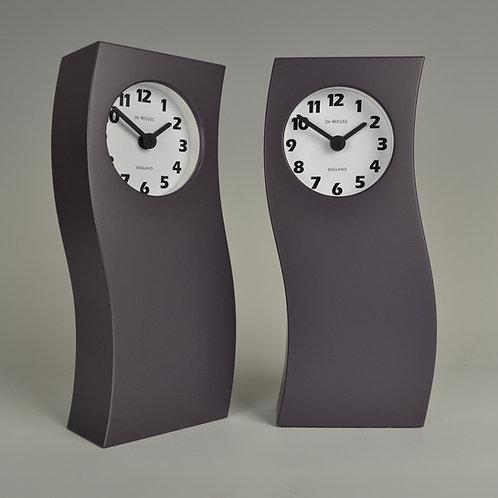 Inhouseclocks - contemporary plum mantel clock