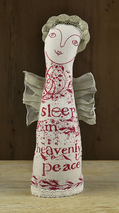 Jill Pargeter - Christmas linen figures with spices