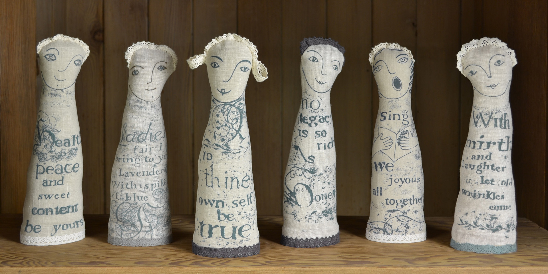 Jill Pargeter | Linen Decorative Figures