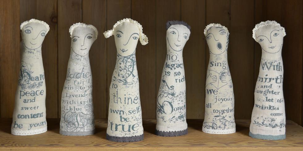 Jill Pargeter | Linen Decorative Figures