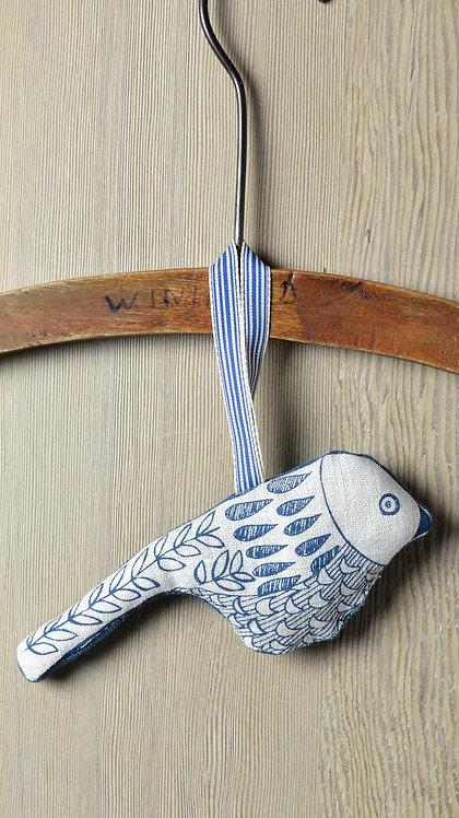 blue bird hanging decoration - Jill Pargeter