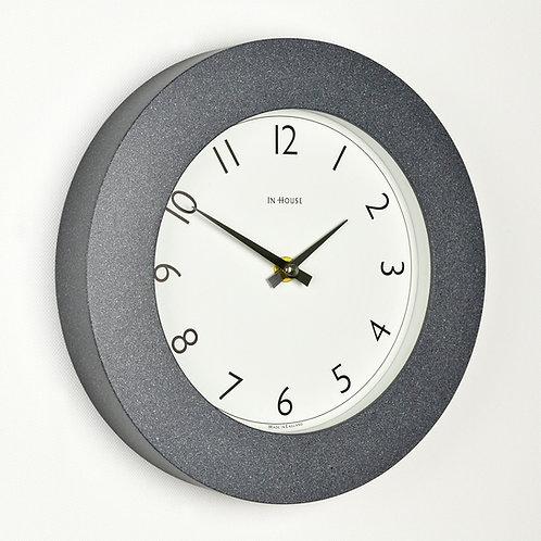 granite effect wall clock handmade in UK