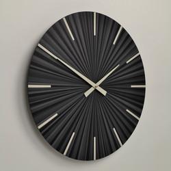 Contemporary black wall clo