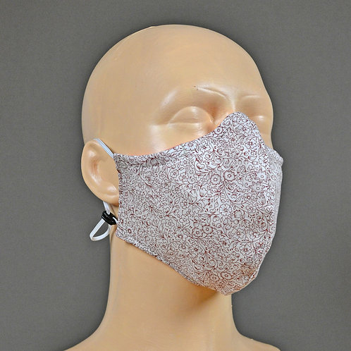 Liberty fabric face masks - triple layer construction