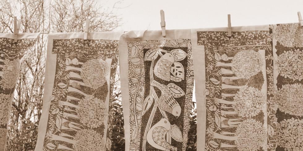 Jill Pargeter | hand printed textiles