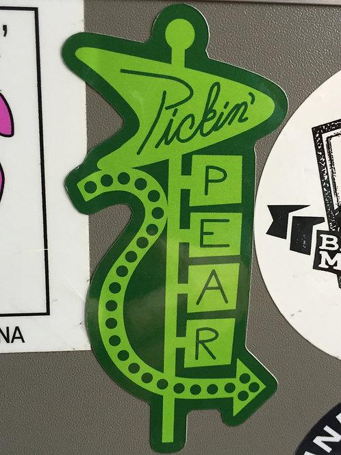 Pickin' Pear Sticker #3
