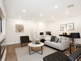Open Plan Family Seating Area in 72 Margaret Street Dual Occupancy