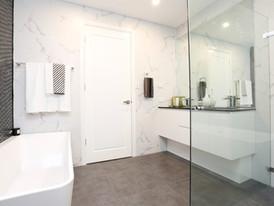 Luxurious Family Bathroom in 72 Margaret Street Dual Occupancy