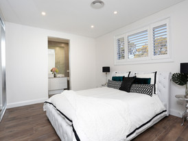 Luxe Bedroom 2 with Ensuite Bathroom in 72 Margaret Street Dual Occupancy