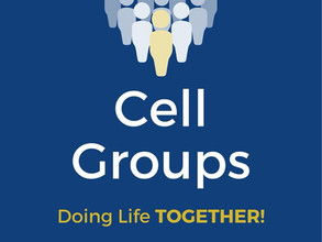 Cell Groups are a place of Growth