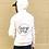Thumbnail: White Crazy Yoga Sweatshirt