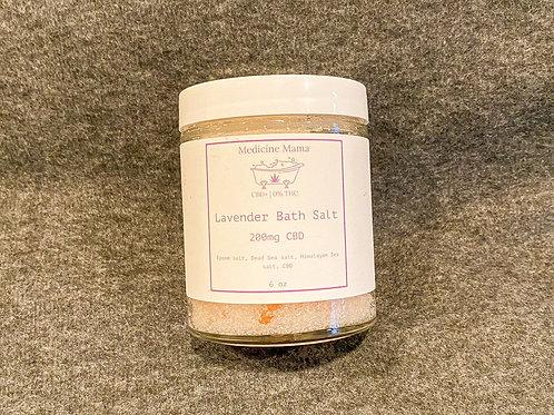CBD Lavender Bath Salt