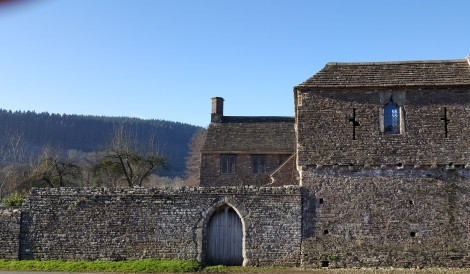 Tretower Court, one-time home of the Red Book of Hergest