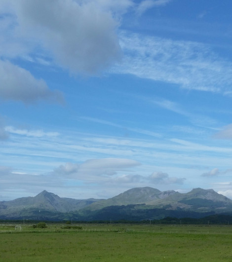 Snowdonia, the heartland of the Welsh language
