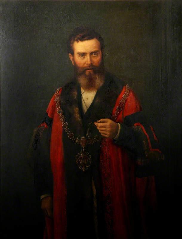 James Rogers, JP, Mayor of Swansea (1878)